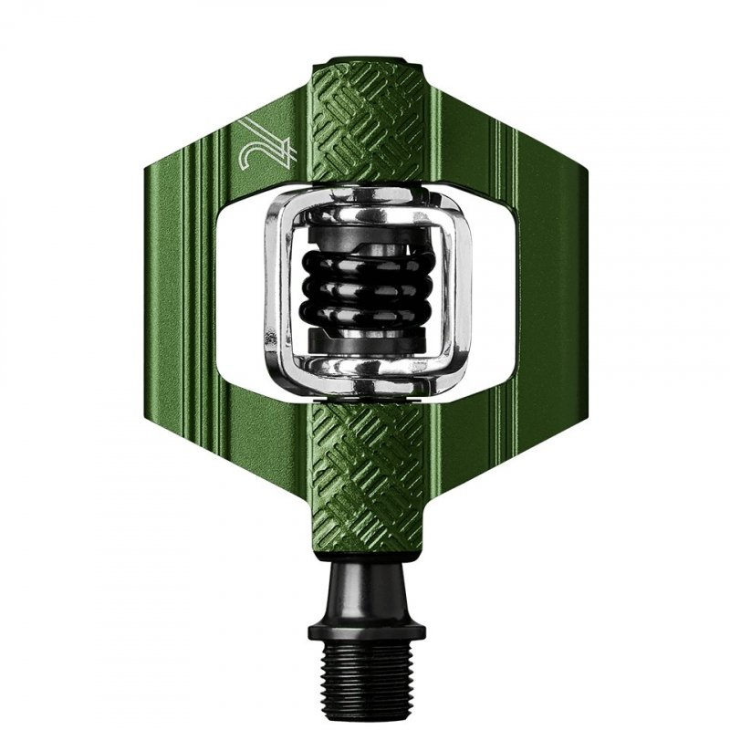 Pedale Crank Brothers Candy 2 verde 2019