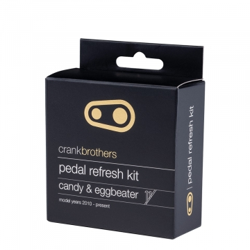 Kit refresh pedale Crank Brothers Eggbeater, Candy 11