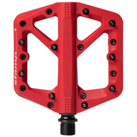 Pedale Crankbrothers Stamp 1 Small rosu 2019