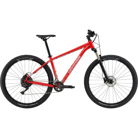 """Bicicleta Cannondale Trail 5 29"""" 2021 rally red"""