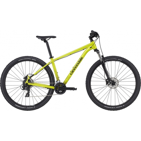 """Bicicleta Cannondale Trail 8 28.5"""" 2021 highlighter"""