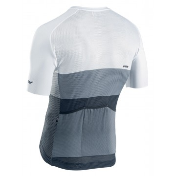 Tricou ciclism NORTHWAVE BLADE AIR alb/antracit
