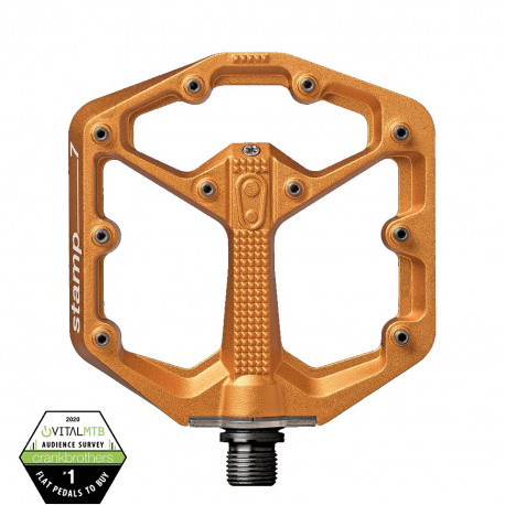 Pedale Crank Brothers Stamp 7 Small Orange